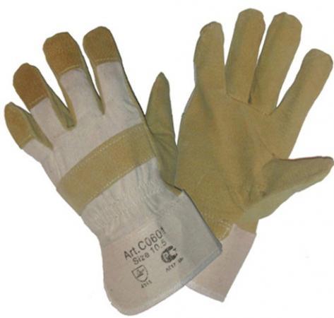 Перчатки NEWTON per7 Ангара люкс комбинированные спилковые