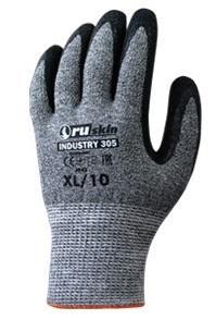 Перчатки RUSKIN Industry 305 бесшовные защита ладони размер 7 перчатки ruskin xim 103 для защиты от химических воздействий размер 9