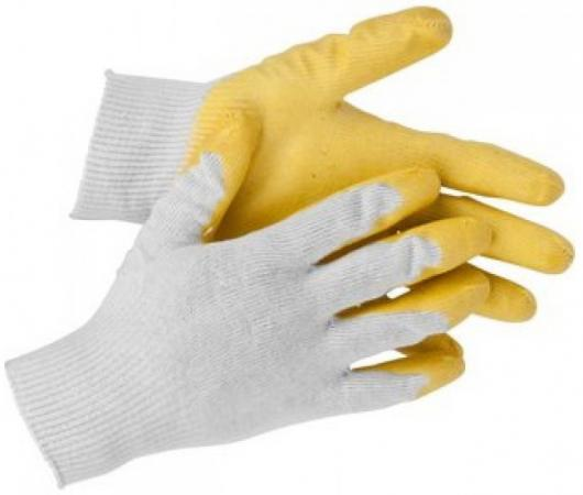 Перчатки STAYER 11408-XL мaster трикотажные обливная ладонь из латекса х/б 13 класс l-xl перчатки мма everlast перчатки тренировочные prime mma l xl