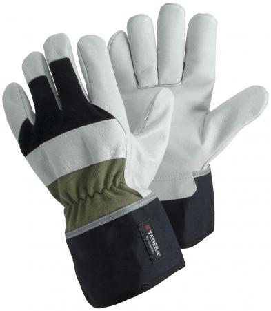 Перчатки TEGERA 90035 рабочие кожанные/комбинированные стоимость