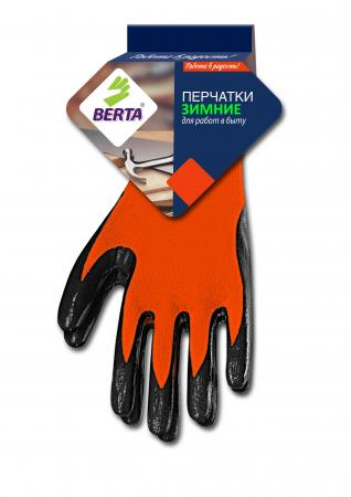 Перчатки БЕРТА 281 зимние с покрытием falken mi 527 295 80r22 5 152 148m