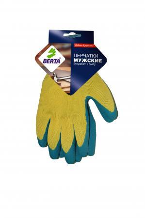 Перчатки БЕРТА 545 с латексным покрытием усиленные стоимость