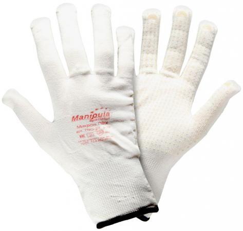 Перчатки МАНИПУЛА Нейлон нейлоновые белые baci перчатки белые сатиновые
