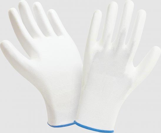 Фото - Перчатки МАНИПУЛА нейлон/полиуретан нейлоновые с полиуретаном перчатки манипула антистатик нейлоновые антистатические белые без пвх