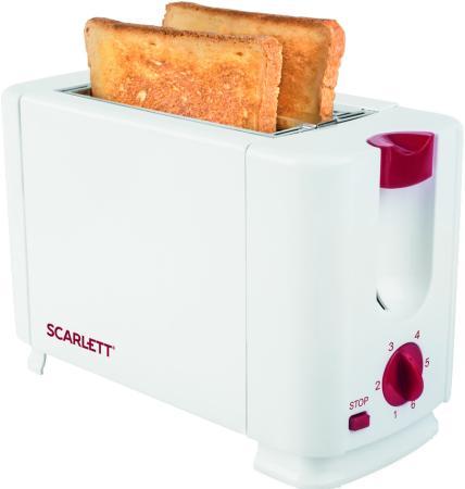 Тостер Scarlett SC-TM11013 700Вт белый мультиварка scarlett sc mc410s18 5л 860вт серебристый белый
