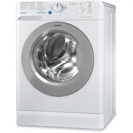 все цены на Стиральная машина Indesit BWSB 51051 S белый онлайн