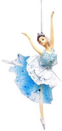 Фото - Украшение Новогодняя сказка Балерина 10*8*15 см 1 шт пластик, текстиль украшение новогодняя сказка балерина 10 8 15 см 1 шт пластик текстиль