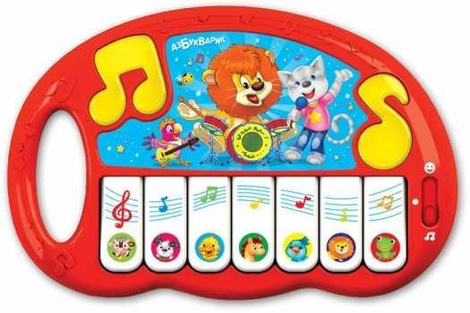 Муз.Игрушка Пианино Волшебные нотки развивающие игрушки азбукварик волшебные нотки