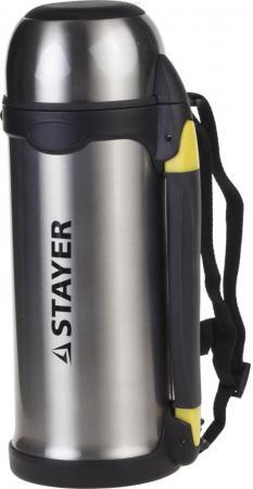 Термос Stayer COMFORT 48110-1000 1л серебристый термос 1л essentials