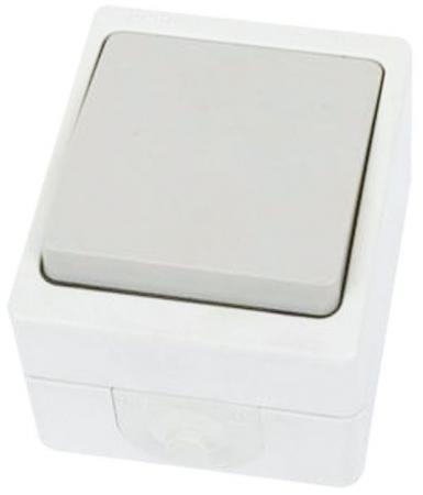 Выключатель TDM SQ1803-0001 10 A белый цена в Москве и Питере