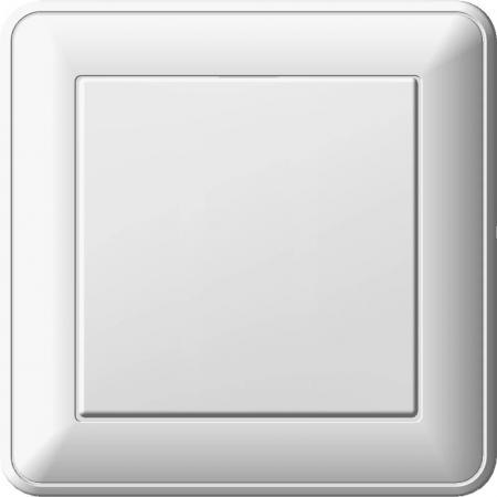 Переключатель WESSEN 59 VS616-156-18 Белый 1-клавишный 16А сх.6 в сборе с рамкой