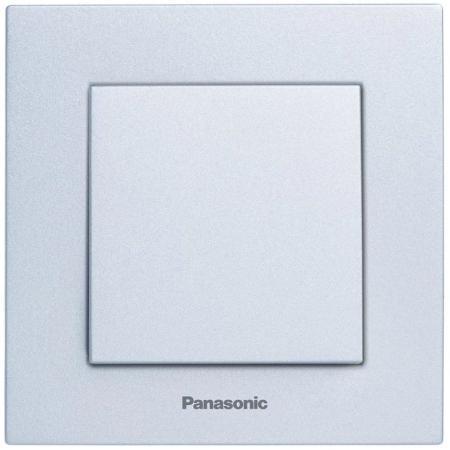 Механизм выключателя PANASONIC WKTT0001-2SL-RES Karre Plus 1кл серебро