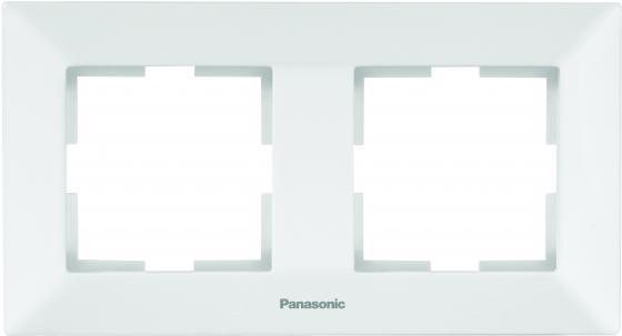 Рамка PANASONIC WMTF0802-2WH-RESS Arkedia 2м горизонтальная белая