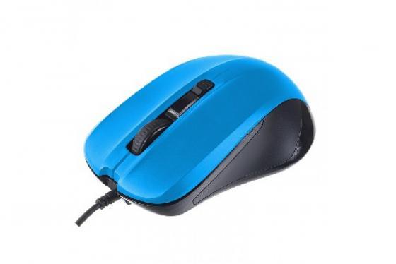 Perfeo мышь оптическая, REGULAR, 4 кн, DPI 800-1600, USB, синий (PF-381-OP-BL) мышь perfeo parad usb white red pf 953 wop w r