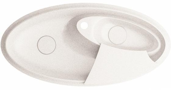 SILVANUS, цвет WHITE (белый), мойка врезная,гранит, две чаши (2b), 1100х540х150 bvlgari omnia paraiba туалетная вода 25 мл спрей