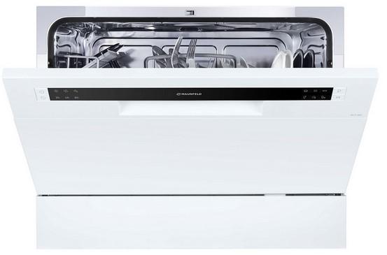 Фото - Посудомоечная бытовая машина MAUNFELD MLP-06S машина посудомоечная maunfeld мlp 06s настольн 6комп 6прог бел