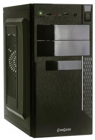 Корпус microATX Exegate QA-411 450 Вт чёрный EX272740RUS цена