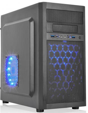 Фото - NAVAN IS004-U3 BK Корпус персонального компьютера IS004-U3 BK 450W (450W) корпус для пк jonsbo u1 u2 u3 umx1 umx2 itx usb3 0