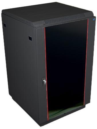 ЦМО! Шкаф телекоммуникационный напольный 18U (600x800) дверь стекло, цвет чёрный (ШТК-М-18.6.8-1ААА-9005)