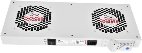 ЦМО Модуль вентиляторный, 2 вентилятора с терморегулятором R-FAN-2T цмо модуль вентиляторный 3 вентилятора с терморегулятором чёрный r fan 3t 9005