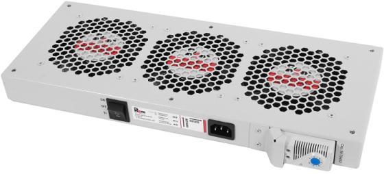 лучшая цена ЦМО Модуль вентиляторный, 3 вентилятора с терморегулятором R-FAN-3T