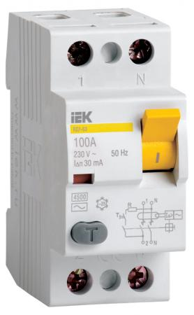 Iek MDV10-2-063-030 УЗО ВД1-63 2Р 63А 30мА ИЭК рамка 4 постовая schneider electric unica mgu2 008 18