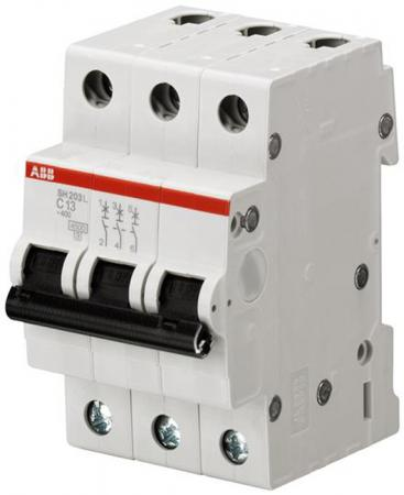 ABB 2CDS243001R0404 Автоматич.выкл-ль 3-пол. SH203L C40 автомат abb s203 c25