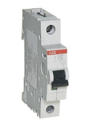ABB 2CDS251001R0104 Автомат.выкл-ль 1-полюсной S201 C10