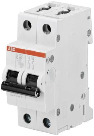ABB 2CDS252001R0164 Автомат.выкл-ль 2-полюсной S202 C16