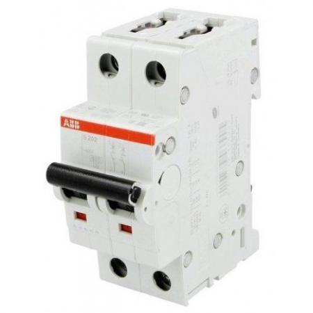 ABB 2CDS252001R0324 Автомат.выкл-ль 2-полюсной S202 C32 автомат abb sh202l c32 2 полюсной