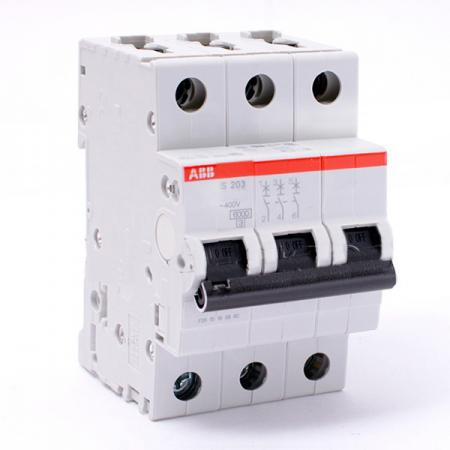 ABB 2CDS253001R0164 Автомат.выкл-ль 3-полюсной S203 C16 автомат abb s203 c63