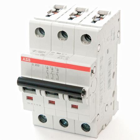 ABB 2CDS253001R0404 Автомат.выкл-ль 3-полюсной S203 C40 автомат 3p 63а тип с 6 ka abb s203