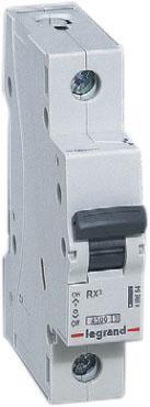 Legrand 419661 RX3 Авт.выключатель 4,5кА 6А 1П C