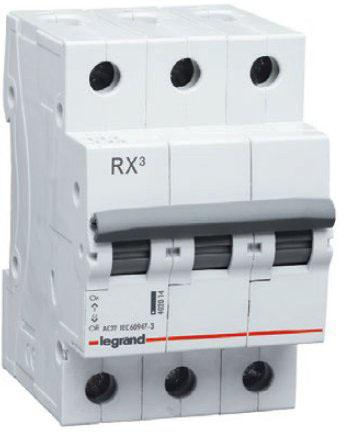 Legrand 419711 RX3 Авт.выключатель 4,5кА 32А 3П C