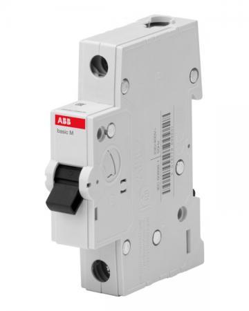 ABB 2CDS641041R0254 Авт. выкл. 1P, 25A, C, 4,5кА, BMS411C25 автоматический выключатель abb 1p 25a c 4 5ка bms411c25