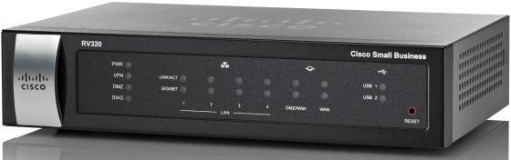 Купить Cisco SB RV320-K8-RU Беспроводной маршрутизатор Dual Gigabit WAN VPN Router, Маршрутизатор