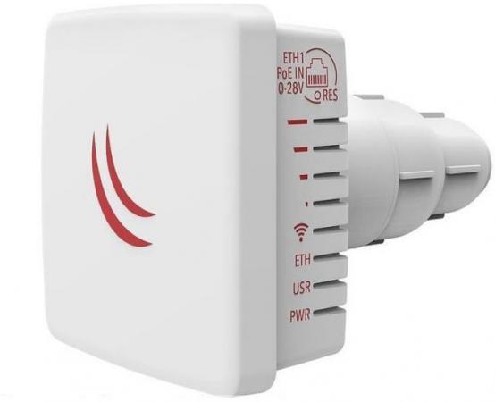MikroTik RBLDF-2nD Точка доступа 2.4 ГГц (b/g/n), MIMO 2х2, 28 дБм интимный комплекс точка g pleyana