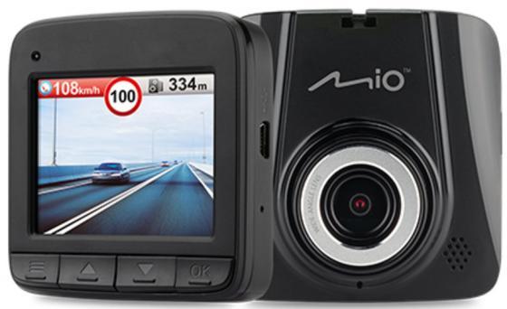 Видеорегистратор Mio MiVue C305 черный 1080x1920 1080p 100гр. AIT 8328
