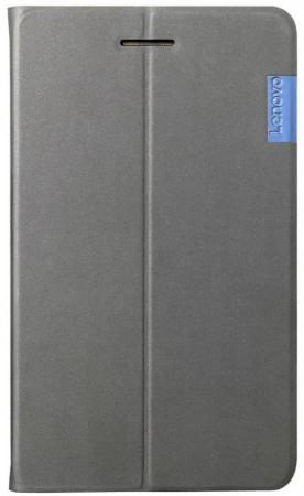 Чехол Lenovo Folio Case/Film полиуретан серый (ZG38C02326) аксессуар чехол lenovo tab 7 folio case and film black ww zg38c02309