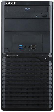 ПК Acer Veriton M2640G MT i3 7100 (3.9)/4Gb/500Gb 7.2k/HDG/DVDRW/Windows 10 Professional/GbitEth/500W/клавиатура/мышь/черный клавиатура ноутбука для acer c720 3404 chromebook gr немецкий черный 9z nbrsc a0g