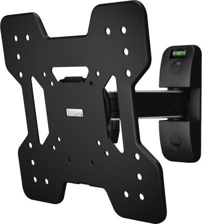 Фото - Кронштейн для телевизора Hama Fullmotion TV Premium черный 19-48 макс.25кг настенный 118052 hama fix tv premium 118050 черный