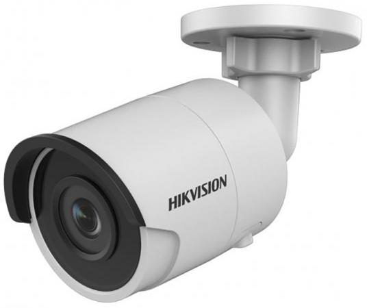 Камера IP Hikvision DS-2CD2023G0-I CMOS 1/2.8 6 мм 1920 x 1080 Н.265 H.264 RJ45 10M/100M Ethernet PoE белый камера ip ubiquiti uvc g3 micro cmos 1 3 3 6 мм 1920 x 1080 h 264 rj45 10m 100m ethernet poe белый черный