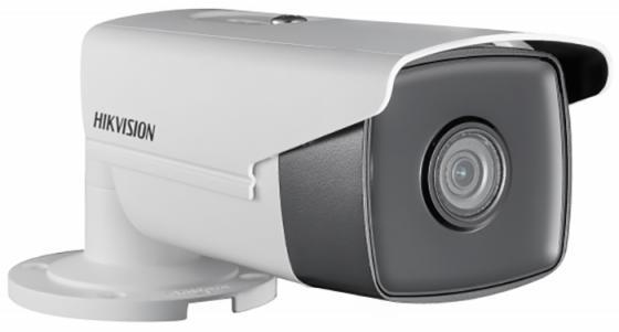 Камера IP Hikvision DS-2CD2T43G0-I8 (4 MM) CMOS 1/3 4 мм 2688 x 1520 Н.265 H.264 MJPEG RJ45 10M/100M Ethernet PoE белый powersync cat 7 rj45 high speed ethernet cable dark blue 10m