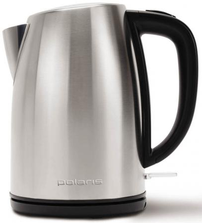 купить Чайник электрический Polaris PWK 1870CA 2200 Вт серебристый 1.8 л нержавеющая сталь по цене 1140 рублей