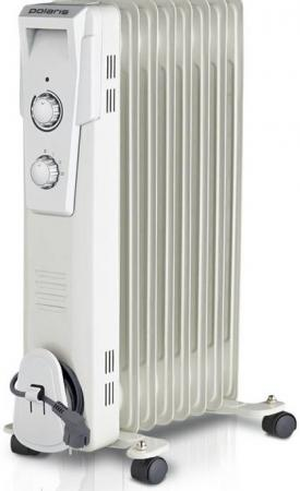 Масляный радиатор Polaris Wave PRE D 0820 2000 Вт белый цена