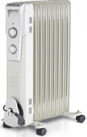Масляный радиатор Polaris Wave PRE D 1025 2500 Вт белый