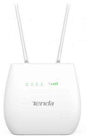Маршрутизатор Tenda 4G680 802.11bgn 300Mbps 2.4 ГГц 3xLAN черный английская версия tenda n301 300mbps wifi router