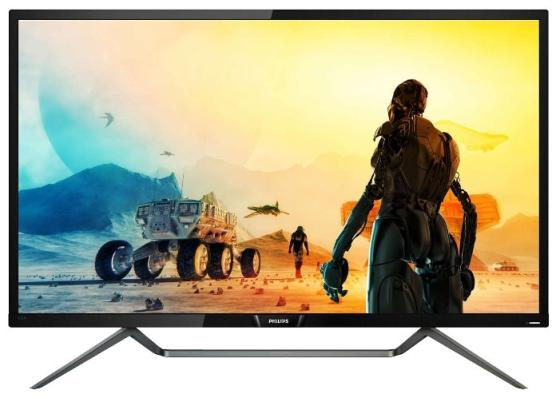 Монитор Philips 43 436M6VBPAB (00/01) черный VA LED 16:9 HDMI M/M матовая 4000:1 300cd 178гр/178гр 3840x2160 DisplayPort Ultra HD USB 14.71кг rabbitow male masturbation cup with heater rod real feel artificial vagina pocket erotic pussy sex products sex toys for men
