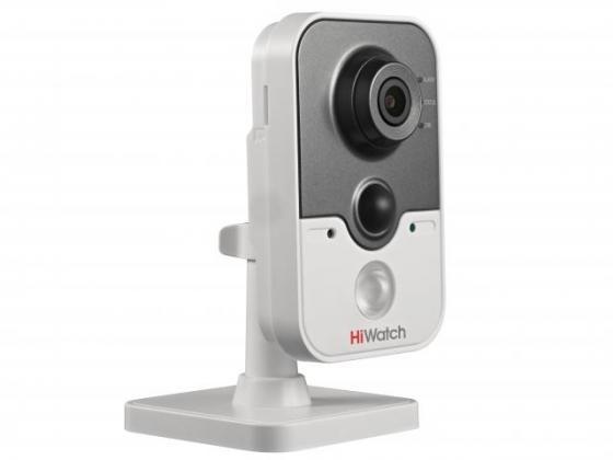 IP-камера HiWatch DS-I214W (4 mm) 2Мп внутренняя IP-камера c ИК-подсветкой до 10м и Wi-Fi 1/2.8'' CMOS матрица; объектив 4.0мм; угол обзора 85°; механ ip камера hiwatch ds i114 2 8mm 1мп внутренняя ip камера c ик подсветкой до 10м 1 4 cmos матрица объектив 2 8мм угол обзора 67° механический ик