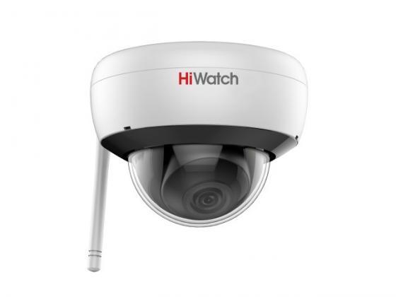 IP-камера HiWatch DS-l252W (2.8mm) 2Мп внутренняя IP-камера c ИК-подсветкой до 30м и Wi-Fi 1/2.8'' CMOS матрица; объектив 2.8мм; угол обзора 114°; мех ip камера hiwatch ds l250w 2 8mm 2мп внутренняя ip камера c ик подсветкой до 30м и wi fi 1 2 8
